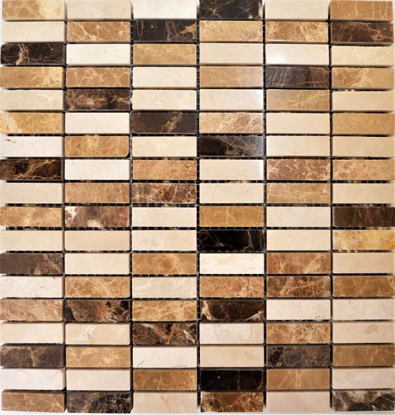 Mozaic piatra Emperador, 30x30 0