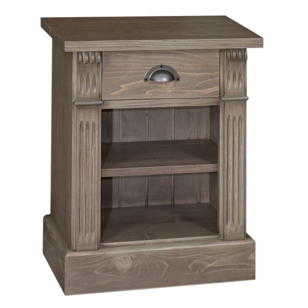 Noptiera dormitor clasica din lemn masiv Directoire 0