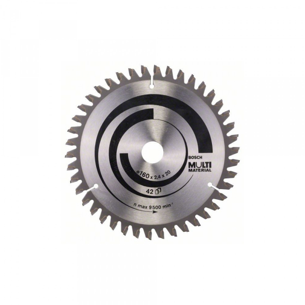 Panza fierastrau circular 160 mm 42 dinti Multi Material [0]