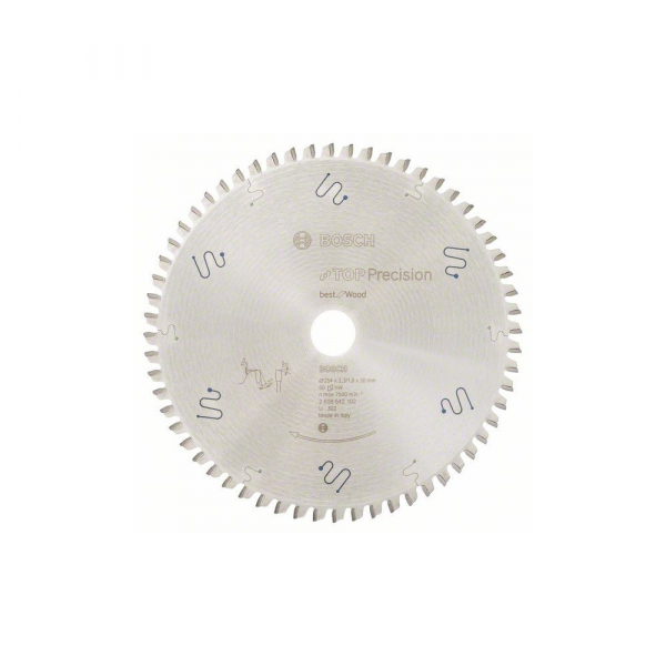 Panza fierastrau circular 254 mm 60 dinti Top Precision [0]