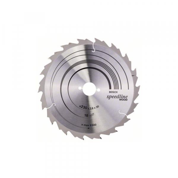 Panza fierastrau circular 230 mm 18 dinti Speedline Wood [0]