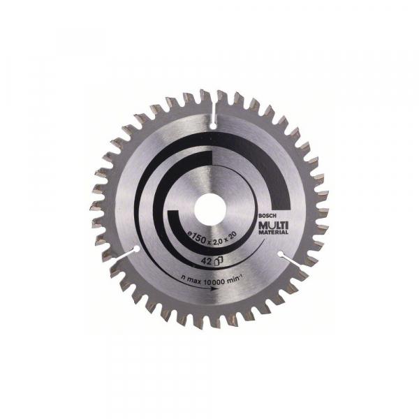 Panza fierastrau circular 150 mm 42 dinti Multi Material [0]