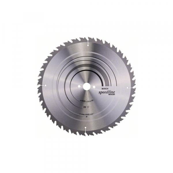 Panza fierastrau circular 400 mm 36 dinti Speedline Wood [0]