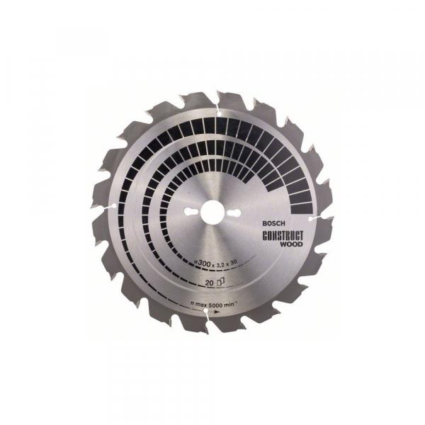 Panza fierastrau circular 300 mm 20 dinti Construct Wood [0]