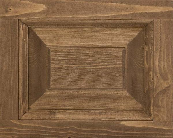 Pat dormitor matrimonial lemn masiv, finisaj ceruit 1