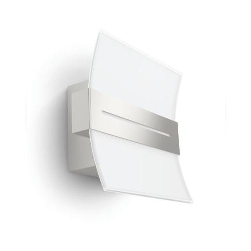 Aplica perete led culoare nichel Brazos 0