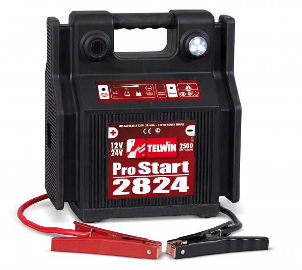 Robot de pornire portabil Telwin Pro Start 2824 12-24V 0