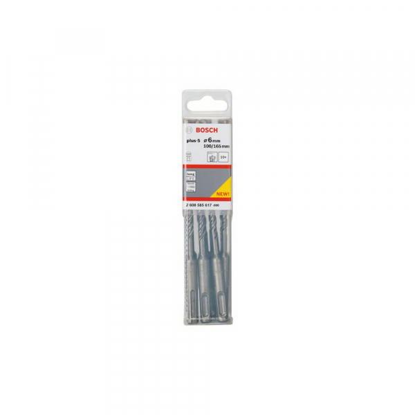 Set 10 burghie SDS-Plus 6 mm 100x165 mm [0]