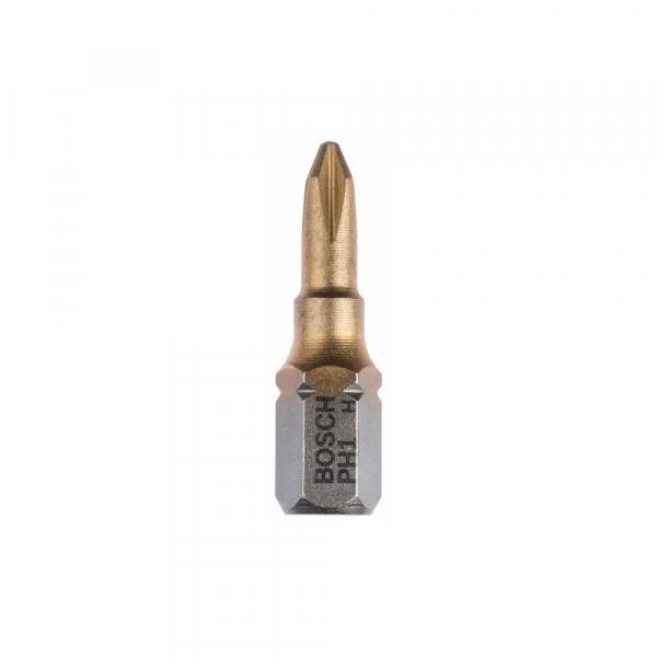 "Set 10 biti pentru insurubare 25 mm PH 1 TIN 1/4"" [0]"