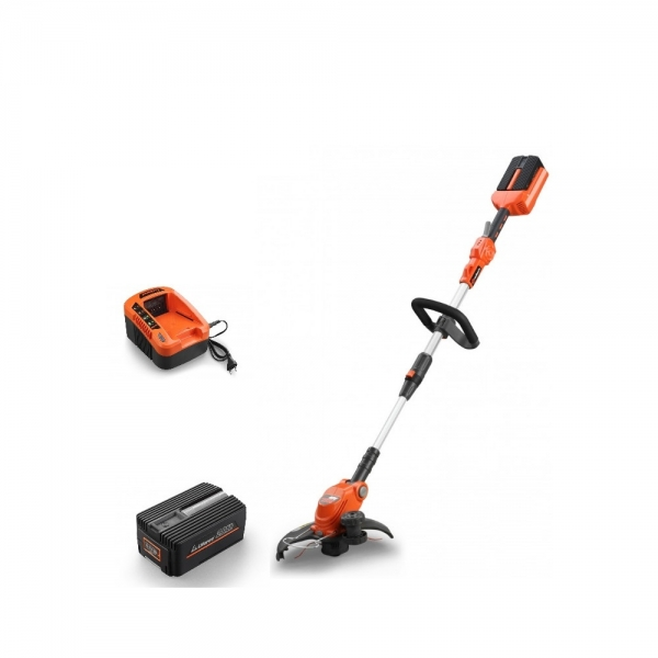 Set Redback trimer iarba E312D 40V + acumulator Li-Ion EP20 40V/2Ah + incarcator EC20 40V/2A 0