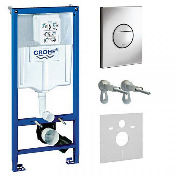 Set rezervor wc incastrat Grohe cu clapeta actionare inclusa 0