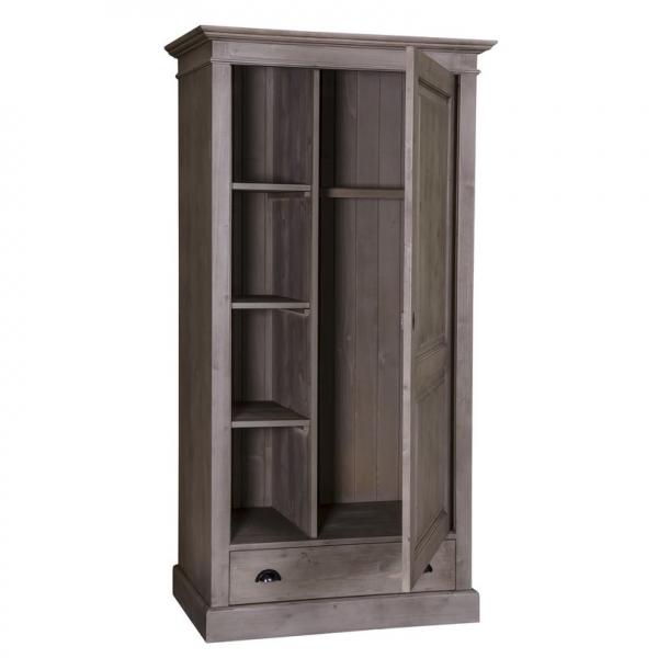 Sifonier din lemn masiv cu o usa si un sertar 1