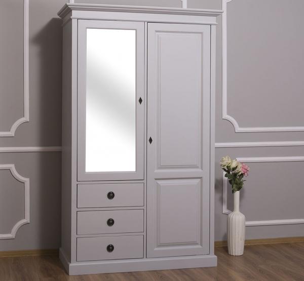 Sifonier din lemn masiv cu oglinda, o usa si 3 sertare 0