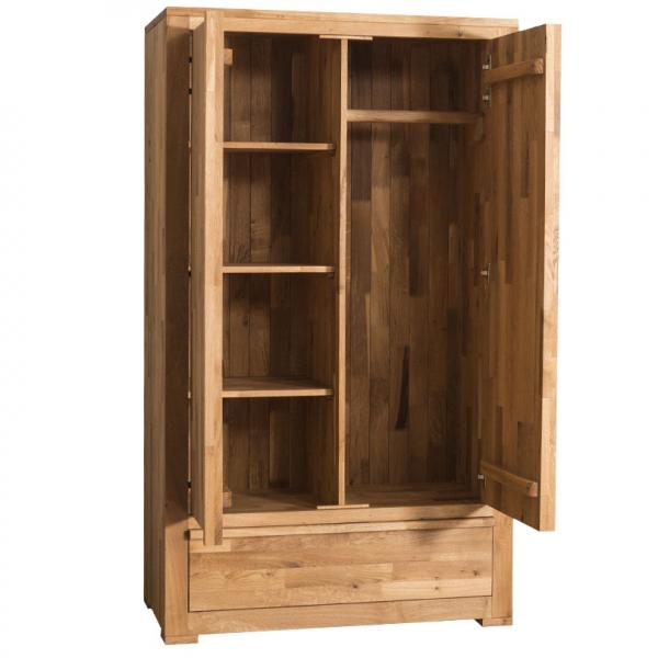 Sifonier lemn stejar cu 2 usi 1