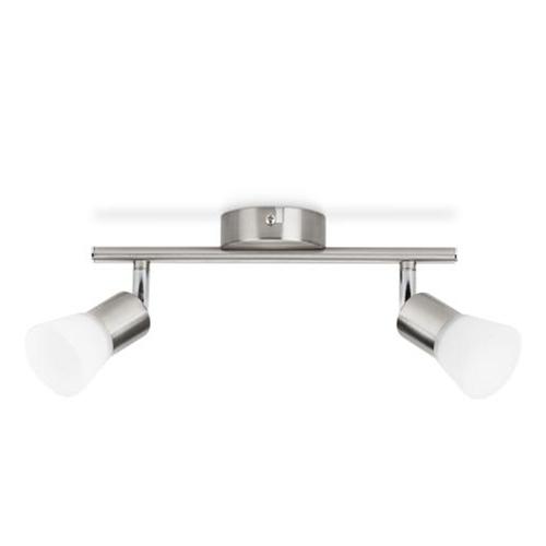 Aplica cu spot led culoare crom, Philips Decagon 2x4,3W 0