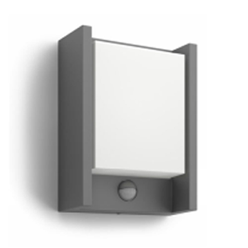 Aplica perete exterior cu senzor culoare antracit, Arbour 0
