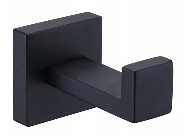 Cuier prosop baie negru Square N 0