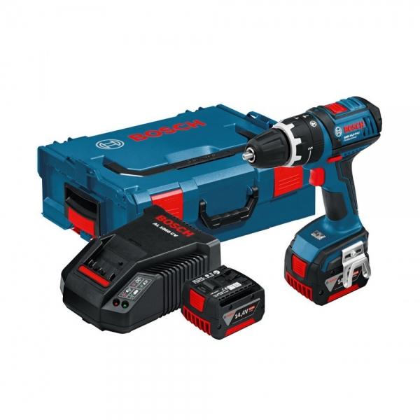 Surubelnita cu acumulator Bosch GSB 14,4 V-LI, L-Boxx 0