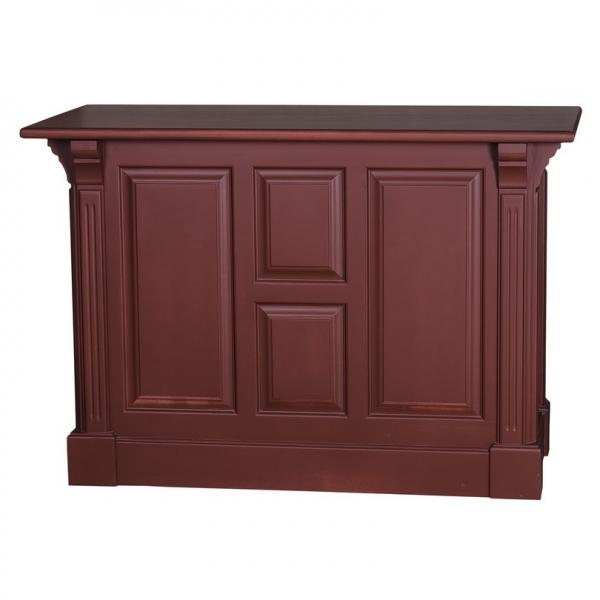 Tejghea bar din lemn masiv cu o usa si 2 sertare 0