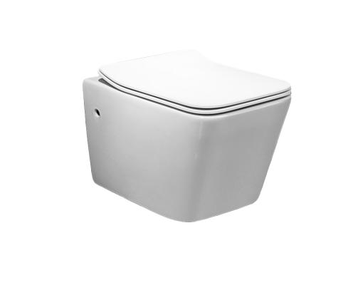 Vas wc suspendat cu capac soft close inclus, Horis 0