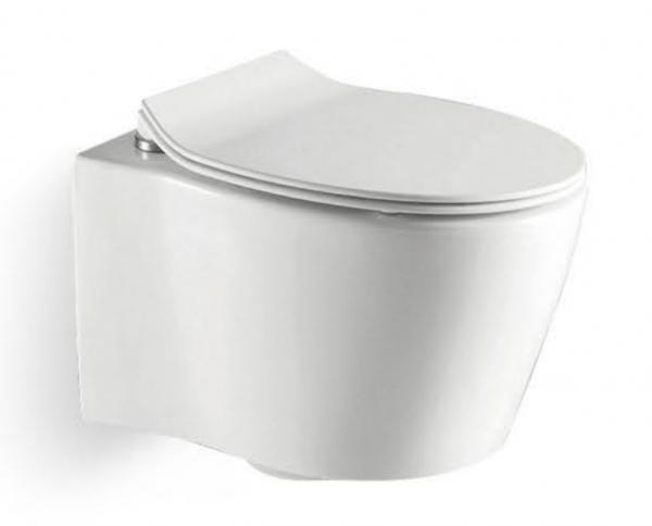 Vas wc suspendat Dalet Thebe cu capac soft close inclus [0]