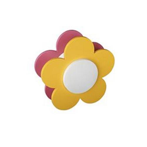 Veioza camera copii culoare galben, Florie [0]