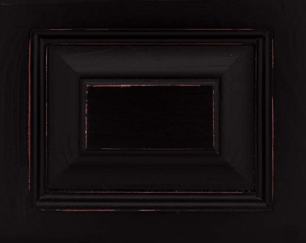 Vitrina bucatarie lemn masiv cu 6 sertare si 2 usi, finisaj antichizat 7