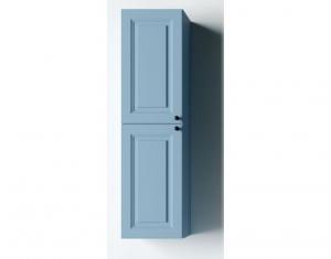 Mobilier baie albastru din lemn masiv tei opac2