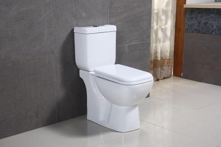 Vas wc Duobloc cu rezervor si capac Soft Close inclus, Cimberly, Dalet [1]