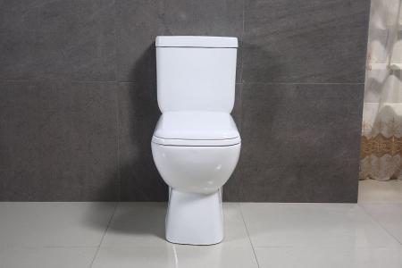 Vas wc Duobloc cu rezervor si capac Soft Close inclus, Cimberly, Dalet [2]
