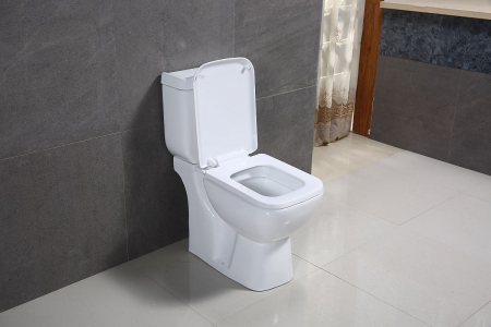 Vas wc Duobloc cu rezervor si capac Soft Close inclus, Cimberly, Dalet [4]