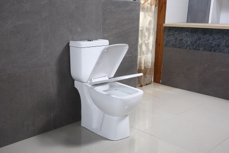Vas wc Duobloc cu rezervor si capac Soft Close inclus, Cimberly, Dalet [6]