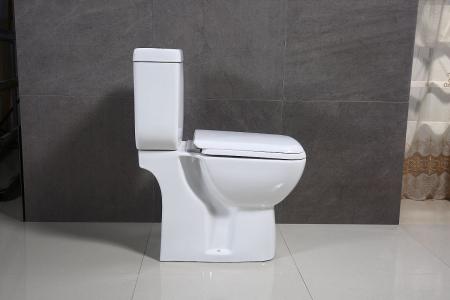 Vas wc Duobloc cu rezervor si capac Soft Close inclus, Cimberly, Dalet [7]