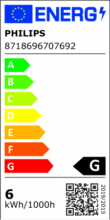 Bec LED spot lumina calda dimabil Philips GU10, 50W, 350lm MASTER ExpertColor [1]