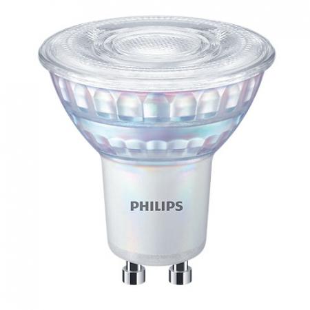 Bec LED spot lumina neutra dimabil Philips GU10, 80W, 575lm MASTER Value [0]
