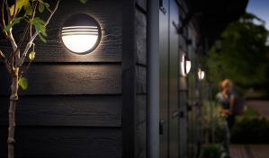 Aplica perete exterior Yarrow culoare neagra, 1x6W LED Philips [3]
