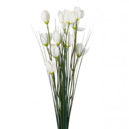 Branduse flori artificiale albe
