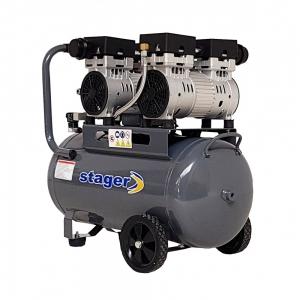 Compresor aer 50L Stager HM50JW-0.75x2 [0]