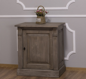 Dulap hol lemn masiv cu o usa Directoire0