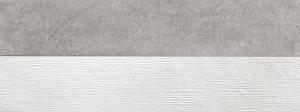 Faianta baie Twin Bottega Acero, 45x120 cm [0]
