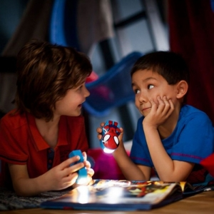Lanterna Disney Spiderman K 1xLED/0,3W IP201