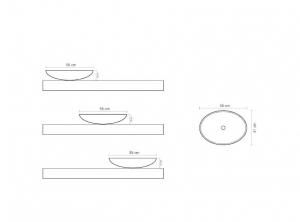 Lavoar baie oval Ellipse [2]