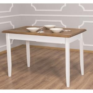 Masa din lemn cu finisaj dublu vopsit, Geo1