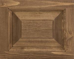 Masa din lemn cu finisaj dublu vopsit, Geo2