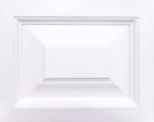 Pat dormitor lemn masiv alb, Helen1