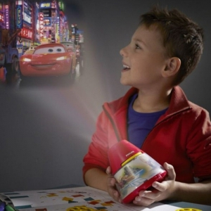 Proiector și lampă de veghe 2 în 1,Disney Cars 3xLED/0,1W si 0,3W IP201