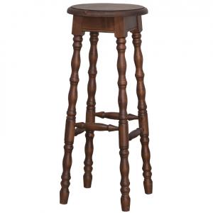 Scaun bar lemn masiv cu picioare strunjite1