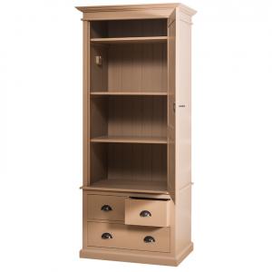 Sifonier din lemn masiv cu o usa si 3 sertare1