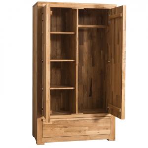 Sifonier lemn stejar cu 2 usi1