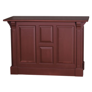 Tejghea bar din lemn masiv cu o usa si 2 sertare0